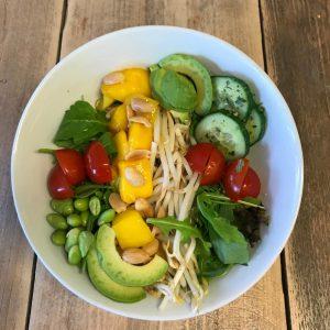 oosterse salade vega